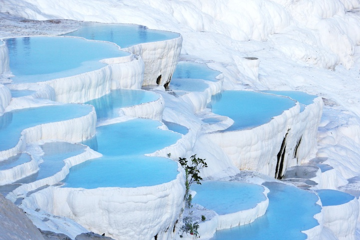 pamukkale cotton castle turkey
